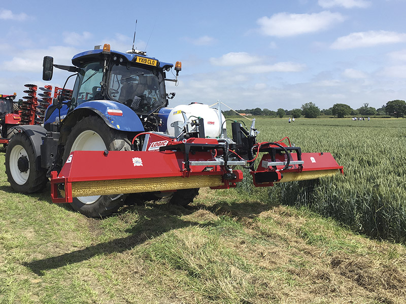 TACKLE BLACK GRASS WITH LOGIC