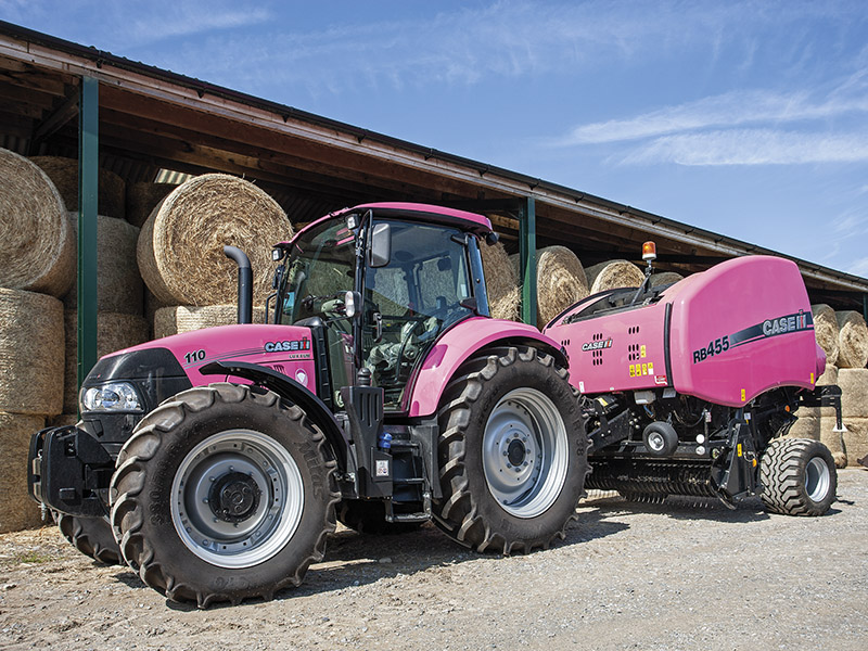 IN THE PINK WITH CASE IH