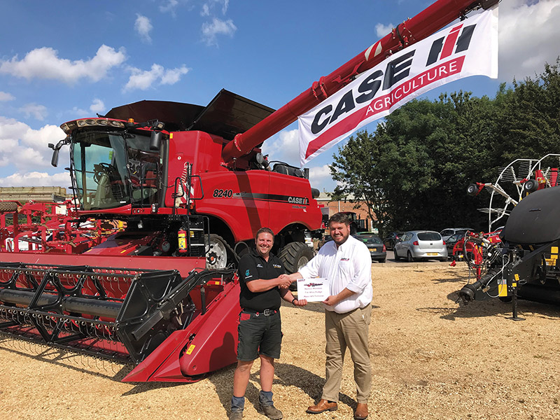 CASE IH AFS AWARD FOR MATT