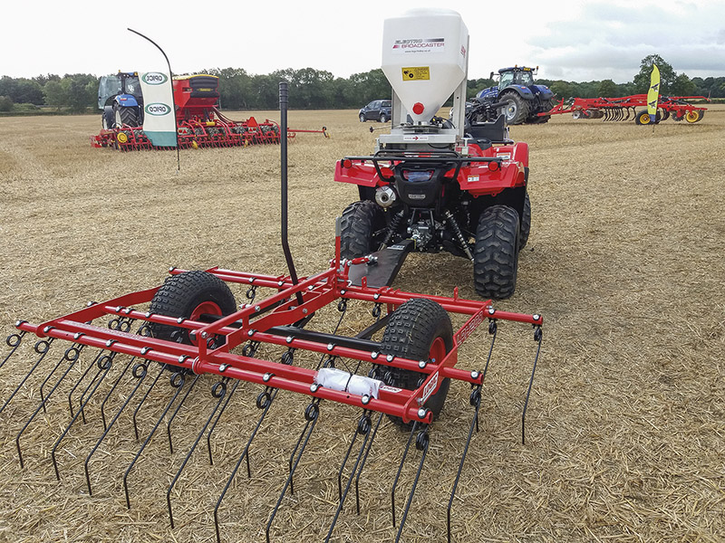GLOUCESTERSHIRE TILLAGE EVENT STARTS CULTIVATION SEASON