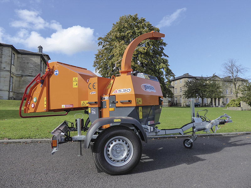 NEW TURNTABLE WOODCHIPPER SHORTLISTED FOR SALTEX AWARD