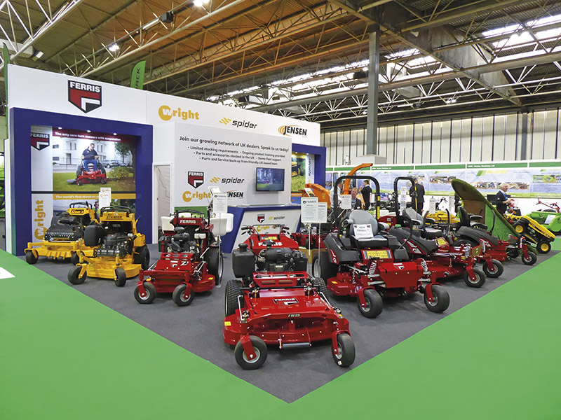 IMPRESSIVE RANGE AND NEW MACHINES AT SALTEX