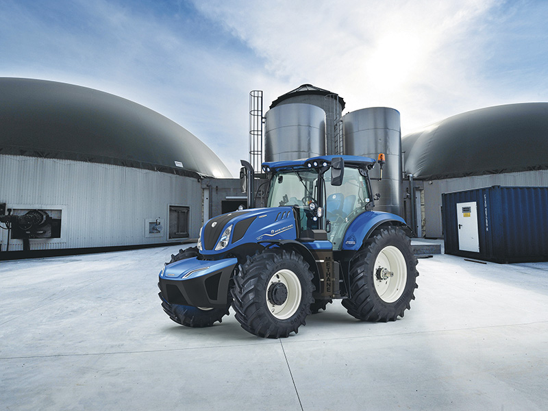 WORLD'S FIRST PRODUCTION METHANE POWERED TRACTOR