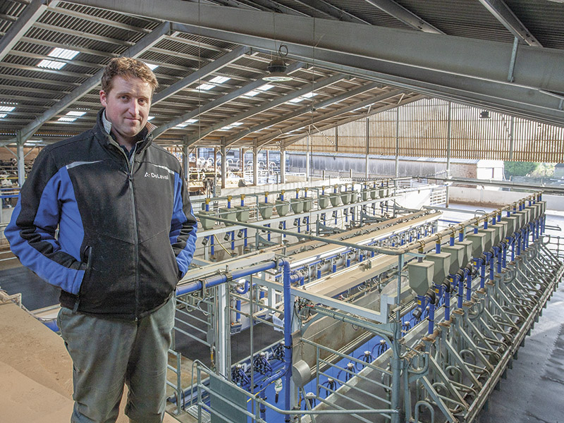 DAIRY FOCUS: Matt Kingston, Tresham Farm, Wotton-under-Edge
