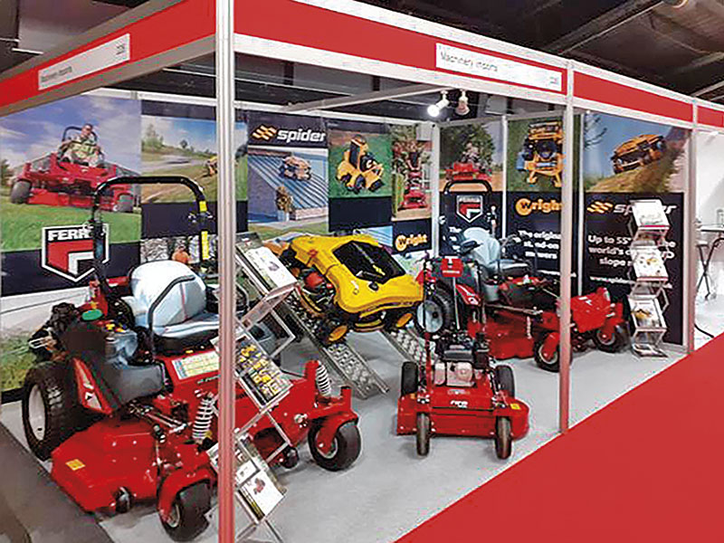 A NEW AUDIENCE FOR QUALITY MOWERS AND CHIPPERS AT BTME