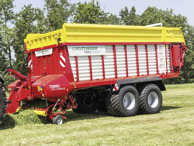 THE 2-IN-1 SILAGE HARVESTING LOADER WAGON