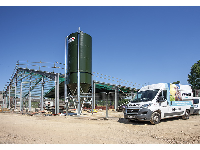 LACKHAM DAIRY UNIT ON COURSE FOR AUTUMN