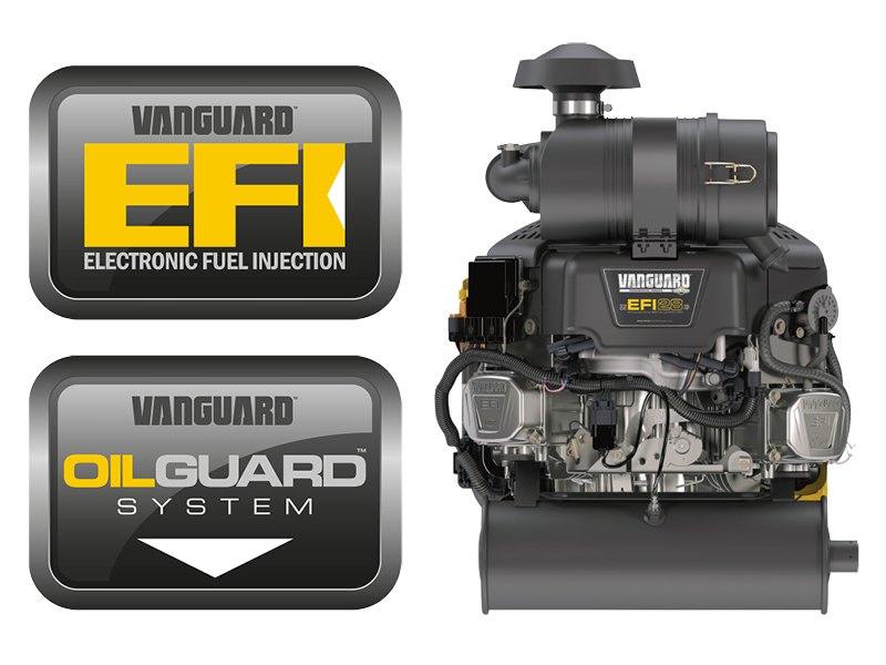 Ferris Vanguard EFI engines and OilGuard system