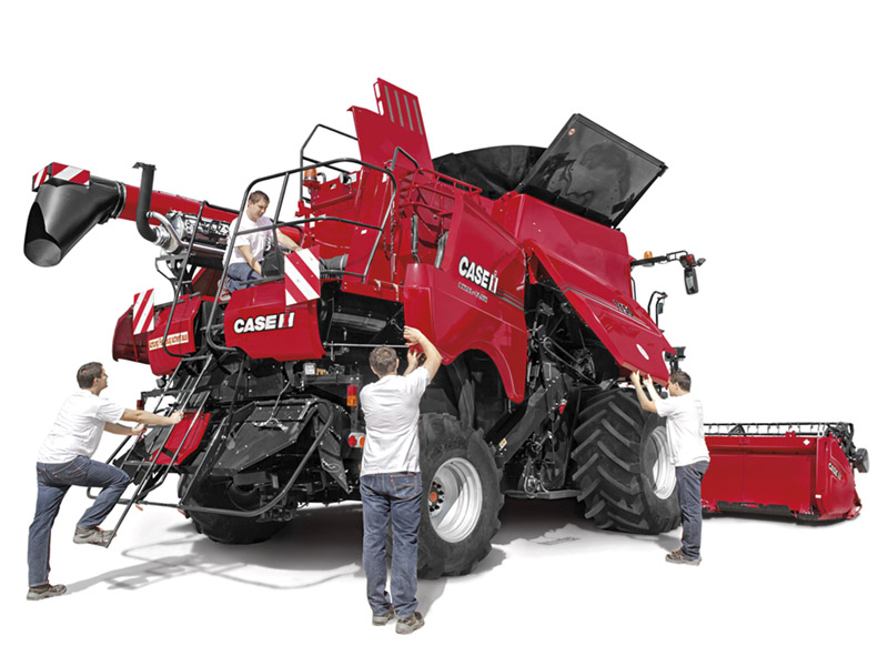 CASE IH COVERS YOU FOR 4 YEARS OR 4,000 HOURS