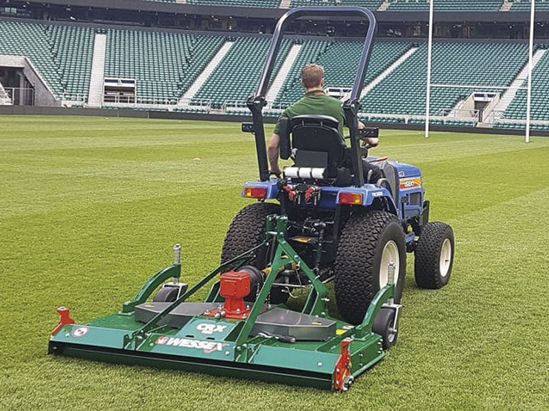 NEW ROTARY MOWERS – AND THE POWER TO DRIVE THEM