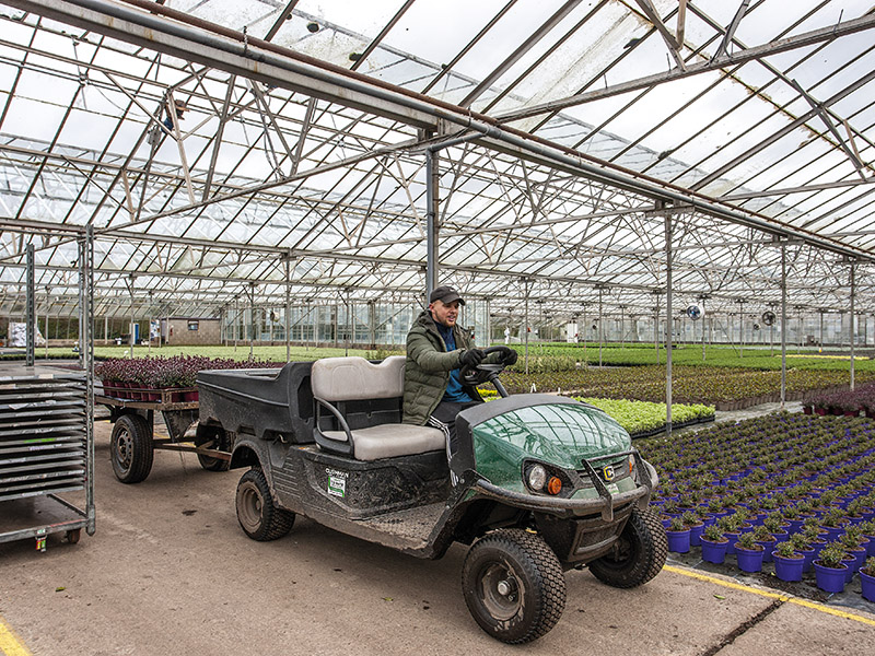 FUME-FREE OPERATION IN GLASSHOUSES