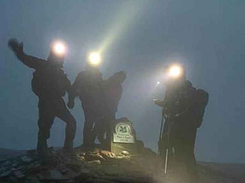 10 Peaks Challenge in aid of the Youth Adventure Trust