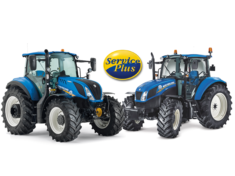 FREE 4 YEAR PLATINUM LEVEL WARRANTY COVER ON NEW HOLLAND T5s