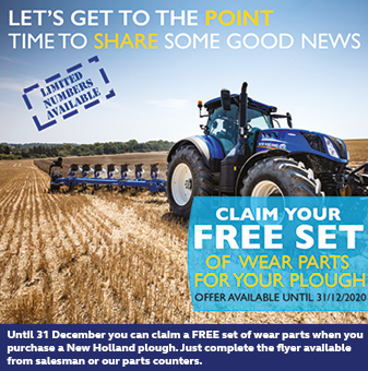 CLAIM A FREE SET OF WEAR PARTS FOR YOUR PLOUGH