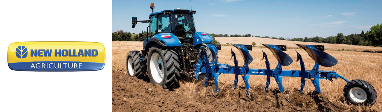 NEW HOLLAND PLOUGHS AND TINE CULTIVATORS