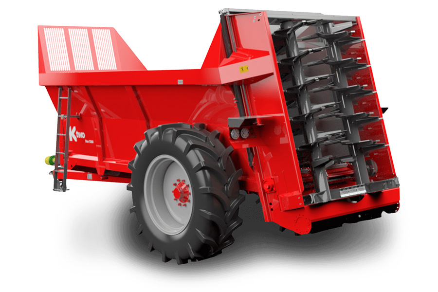 HIGHER VOLUME AND OUTPUT FROM NEW KTWO SPREADERS