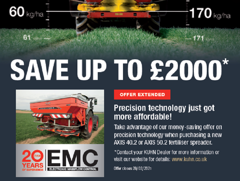 Offer Extended! Save up to £2000 on Kuhn Technology