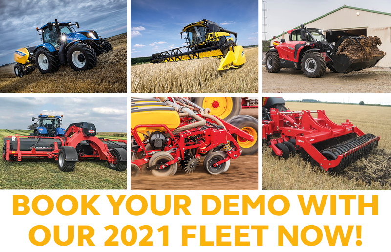 BOOK YOUR DEMO WITH OUR 2021 FLEET NOW!