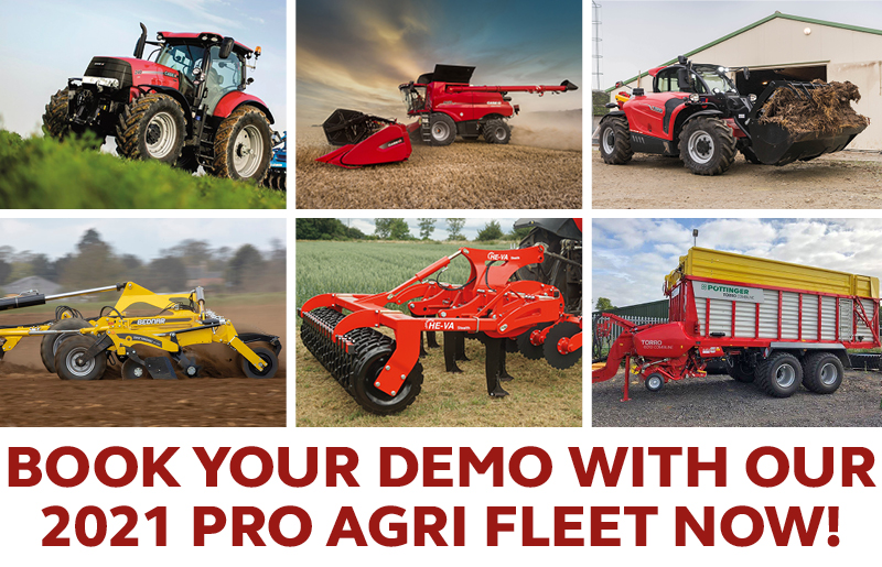BOOK YOUR DEMO WITH OUR 2021 PRO AGRI FLEET NOW!