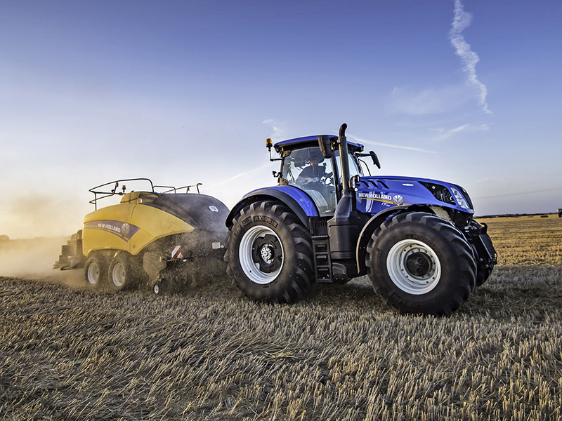T H WHITE IS NEW HOLLAND HAY & FORAGE DEALER OF THE YEAR