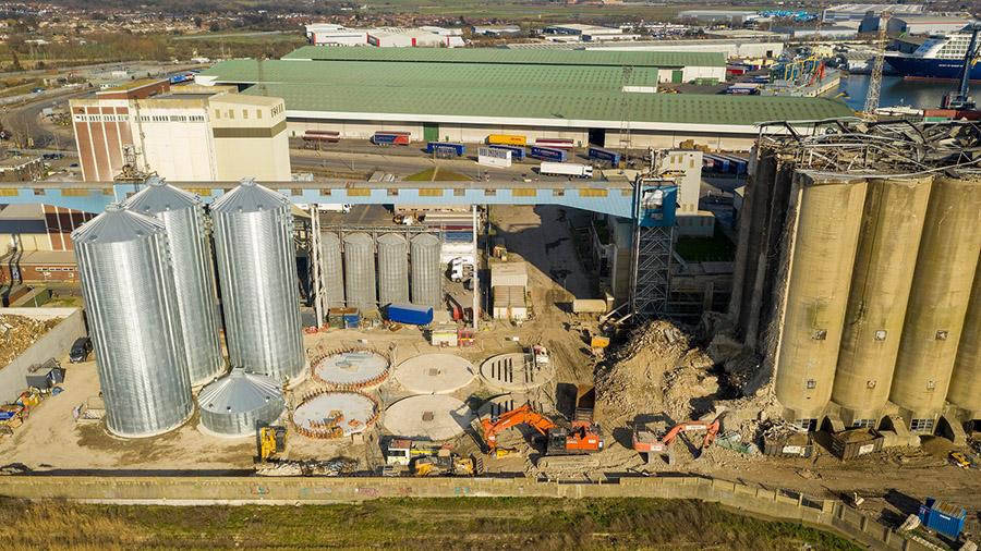 UK STRATEGIC GRAIN TERMINAL EMBARKS ON MAJOR RECONSTRUCTION PROGRAMME