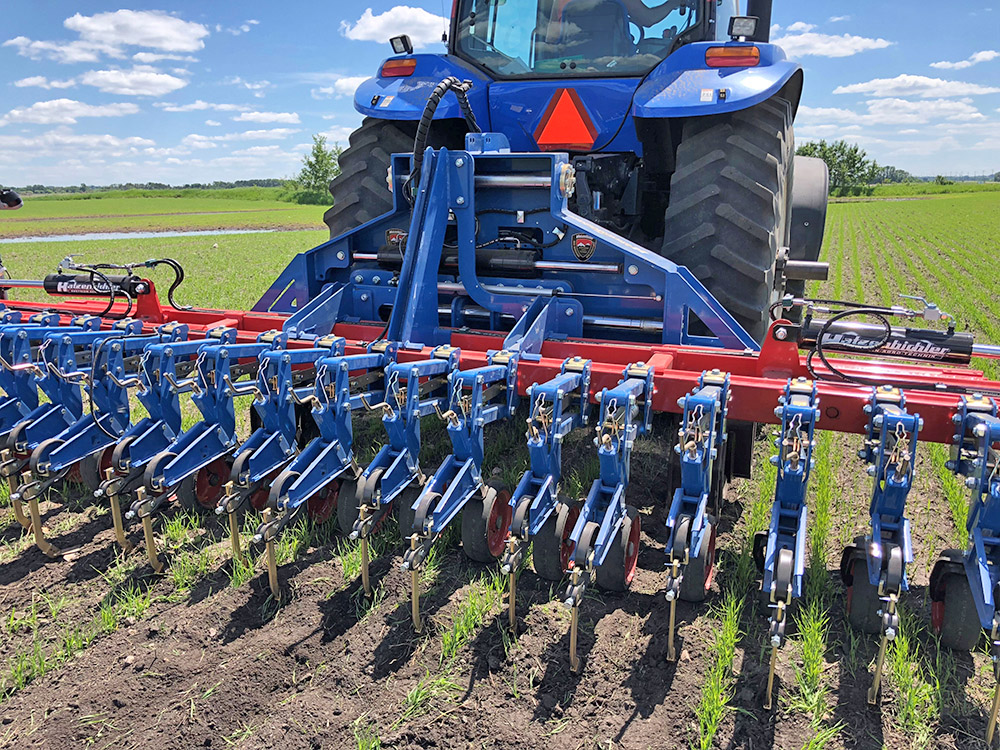 CLEVER MECHANICAL WEED CONTROL