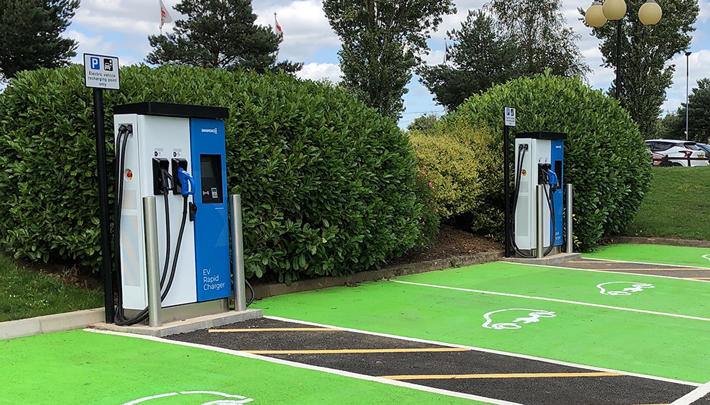 Swarco ev rapid chargers