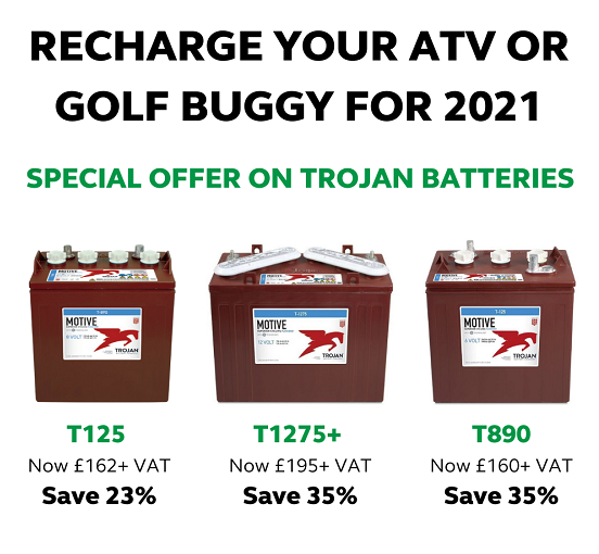 EXCEPTIONAL OFFERS ON TROJAN BATTERIES