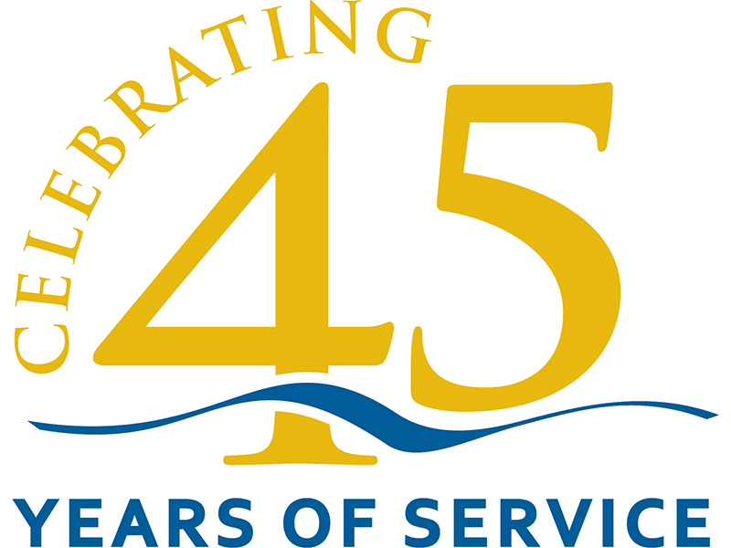 CELEBRATING 45 YEARS SERVICE