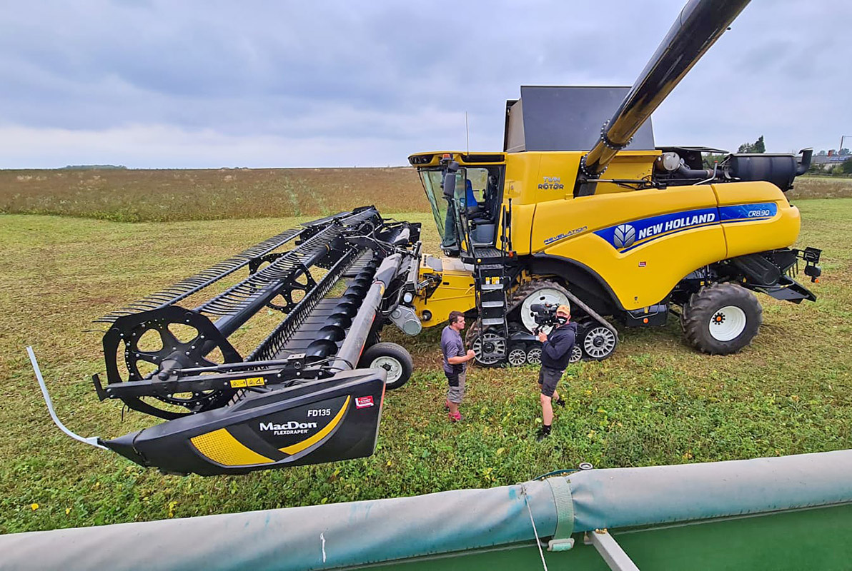 Life on the farm with Ally Hunter Blair, New Holland and MacDon
