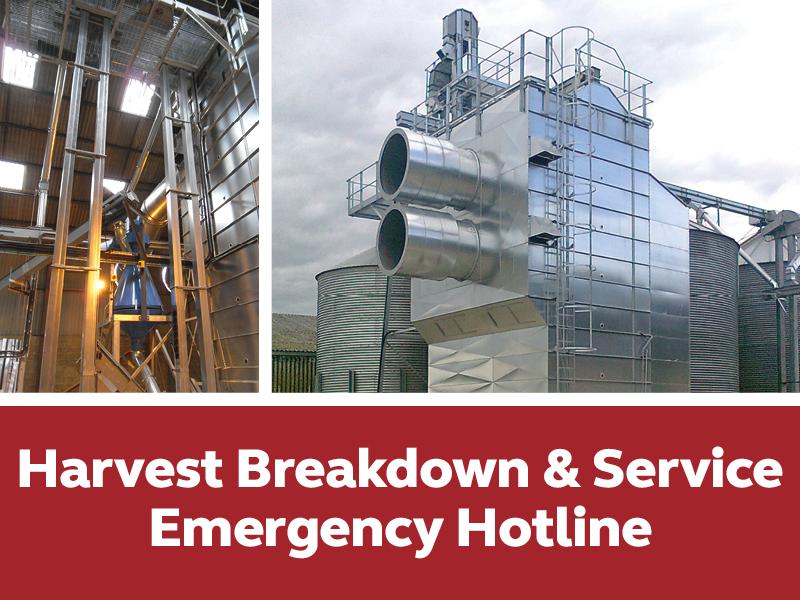 Harvest Breakdown & Service
