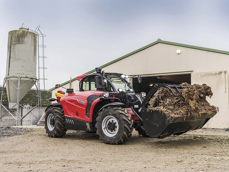 Harvest support from Manitou