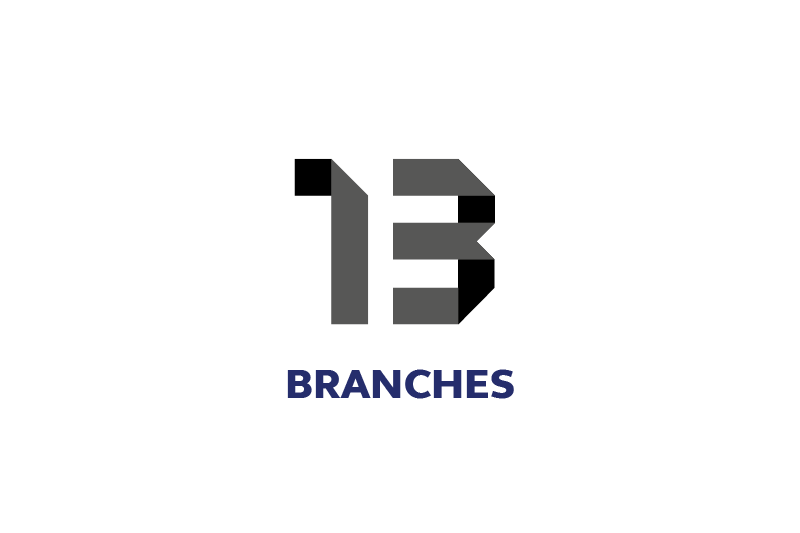 11 branches