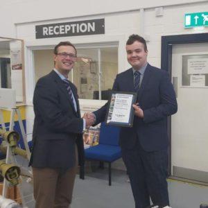 James Hamblin Apprentice Graduation