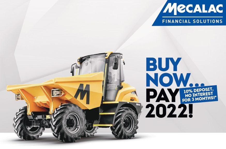 Mecalac- Buy Now… Pay Later